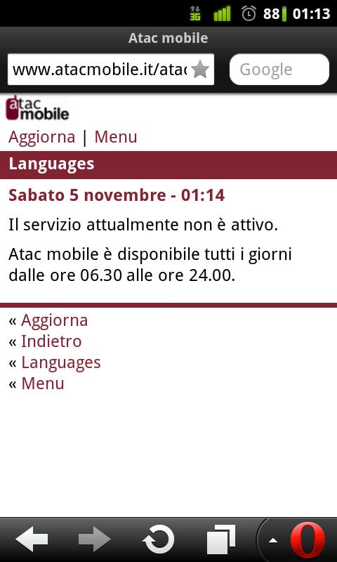 Roma fa schifo atac mobile il servizio eccellente che si for Roma mobile atac