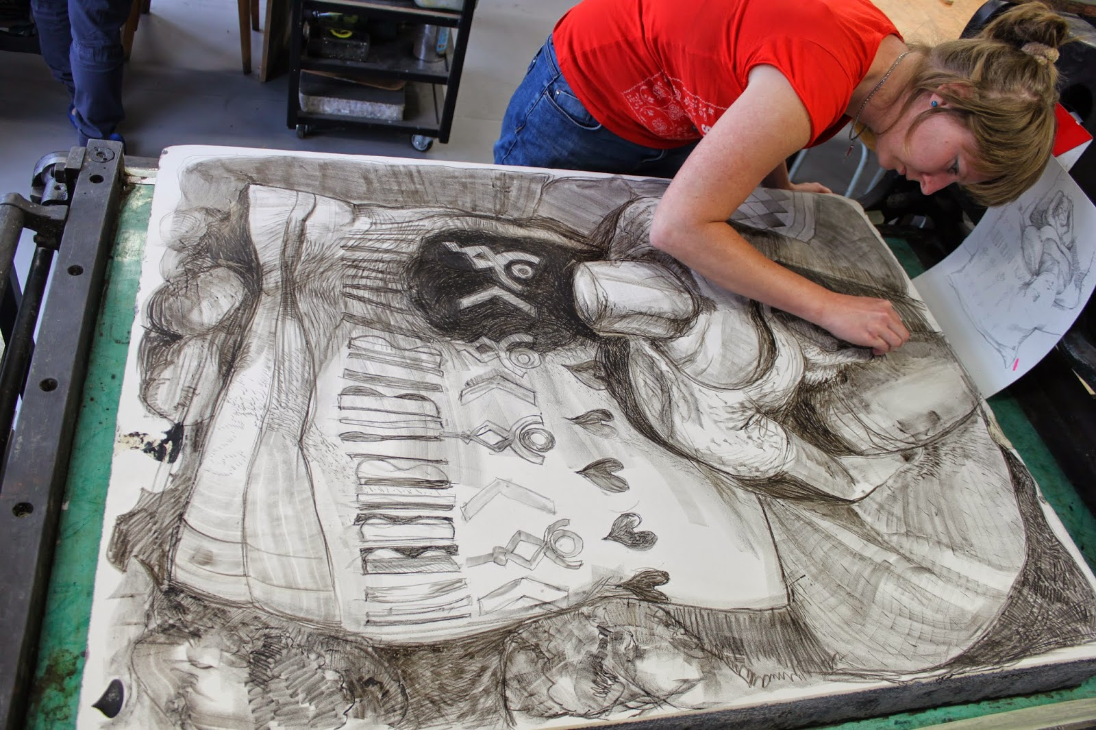 ArtCamp 2014, Litografie, Lithography