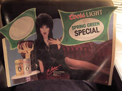 Elvira's Coors Light Spring Green Special