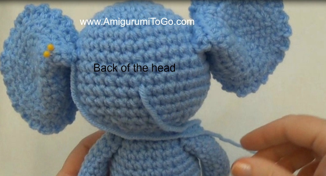 Crochet Elephant Pattern : Little Bigfoot Elephant Video and Pattern ~ Amigurumi To Go
