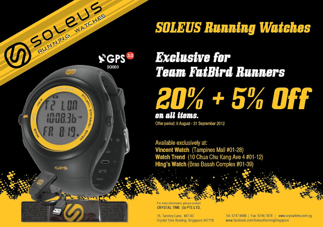 SOLEUS Running Watches Exclusive