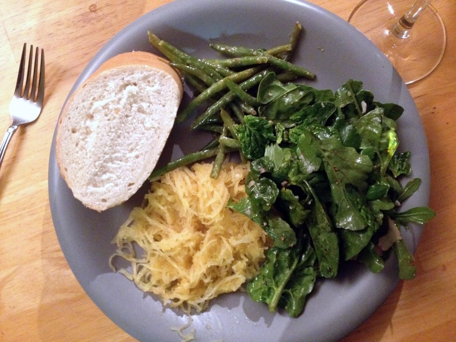 moroccan spiced spaghetti squash 1 spaghetti squash 3 tablespoons ...