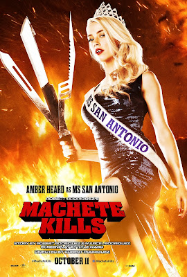 Machete Kills Amber Heard Poster
