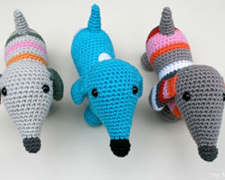2000 Free Amigurumi Patterns: Pattern Dachshund Sam