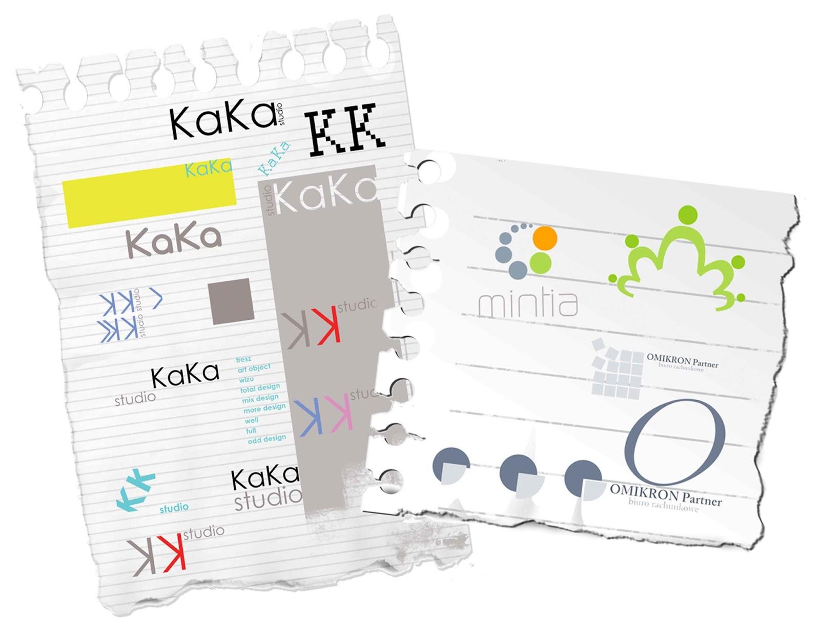 logotypy logo projekty graficzne na zamówienie Katarzyna Urbaniak
