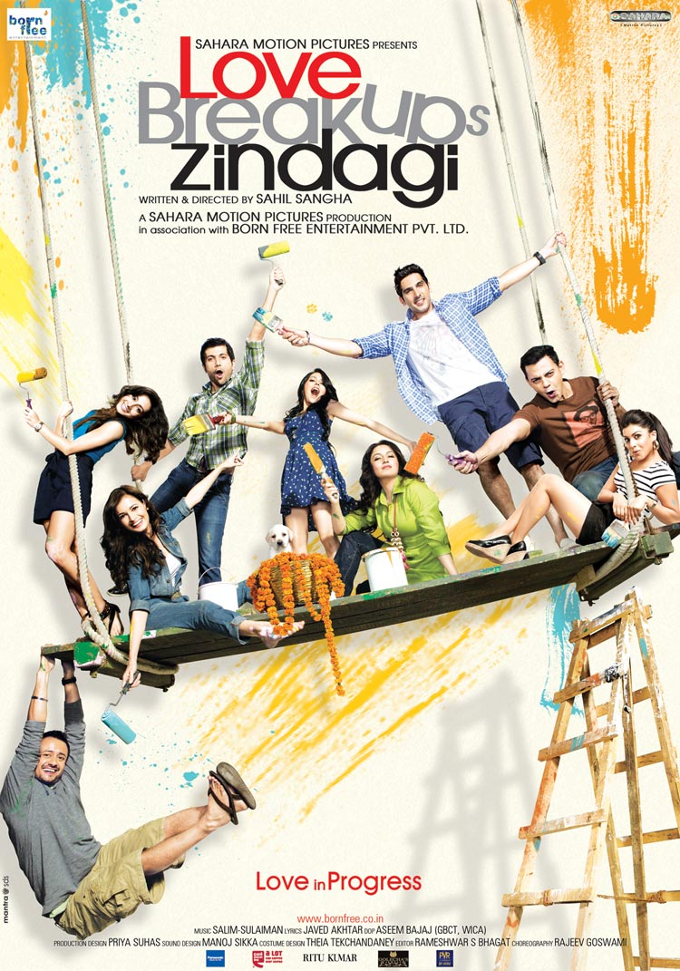 Movie Love BreakUps Zindagi First Look Poster Cast and Crew ...