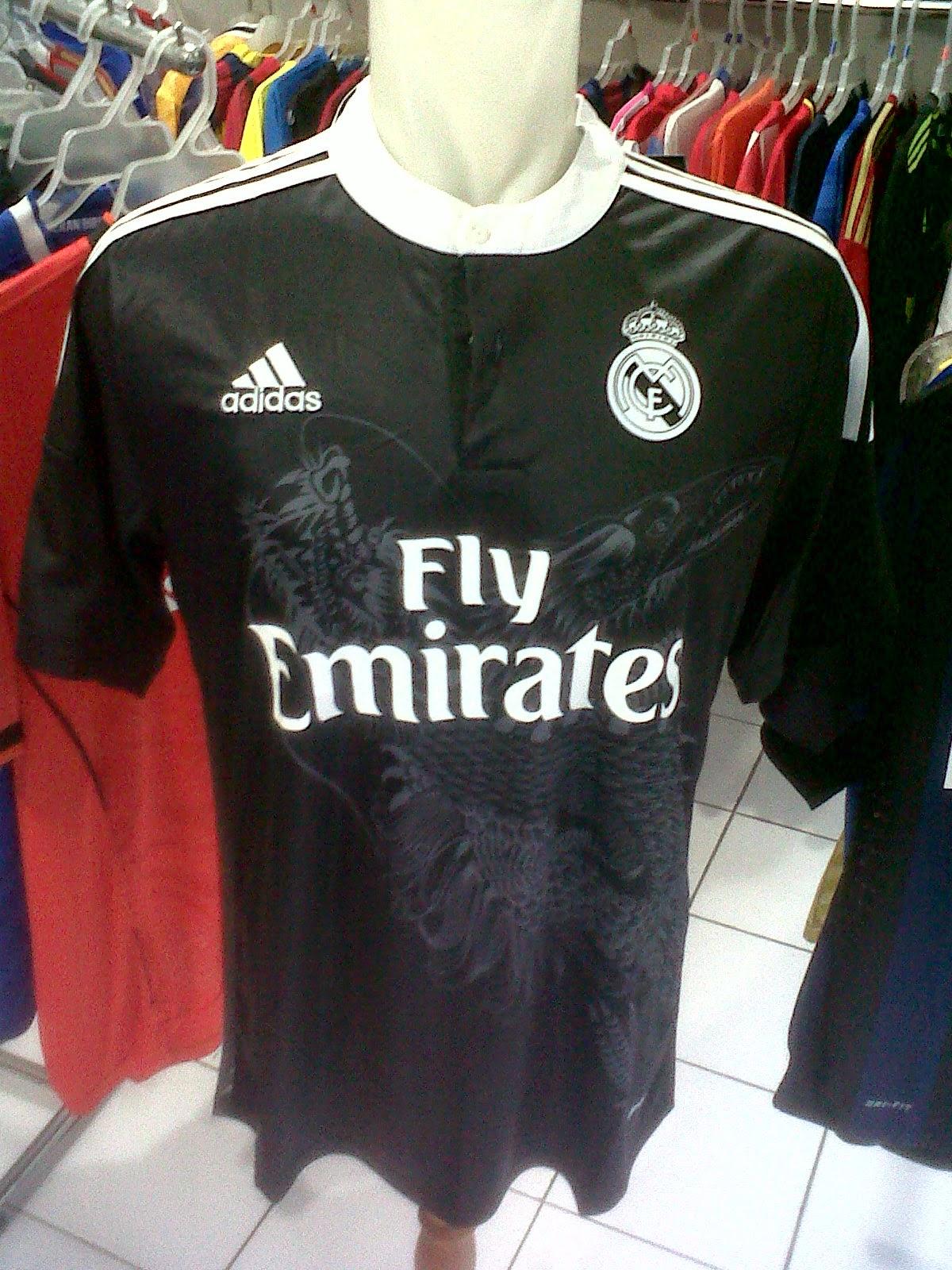Jersey Real Madrid 3rd Naga 2014/2015