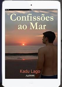 Livro Confissões ao Mar, Kadu Lago