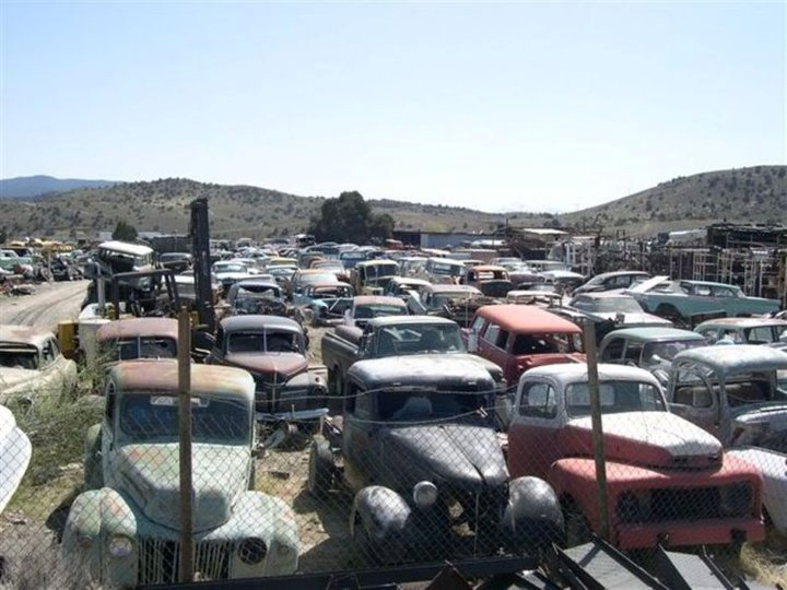 Classic/Vintage Auto Salvage - Cooleys Statewide Scrap