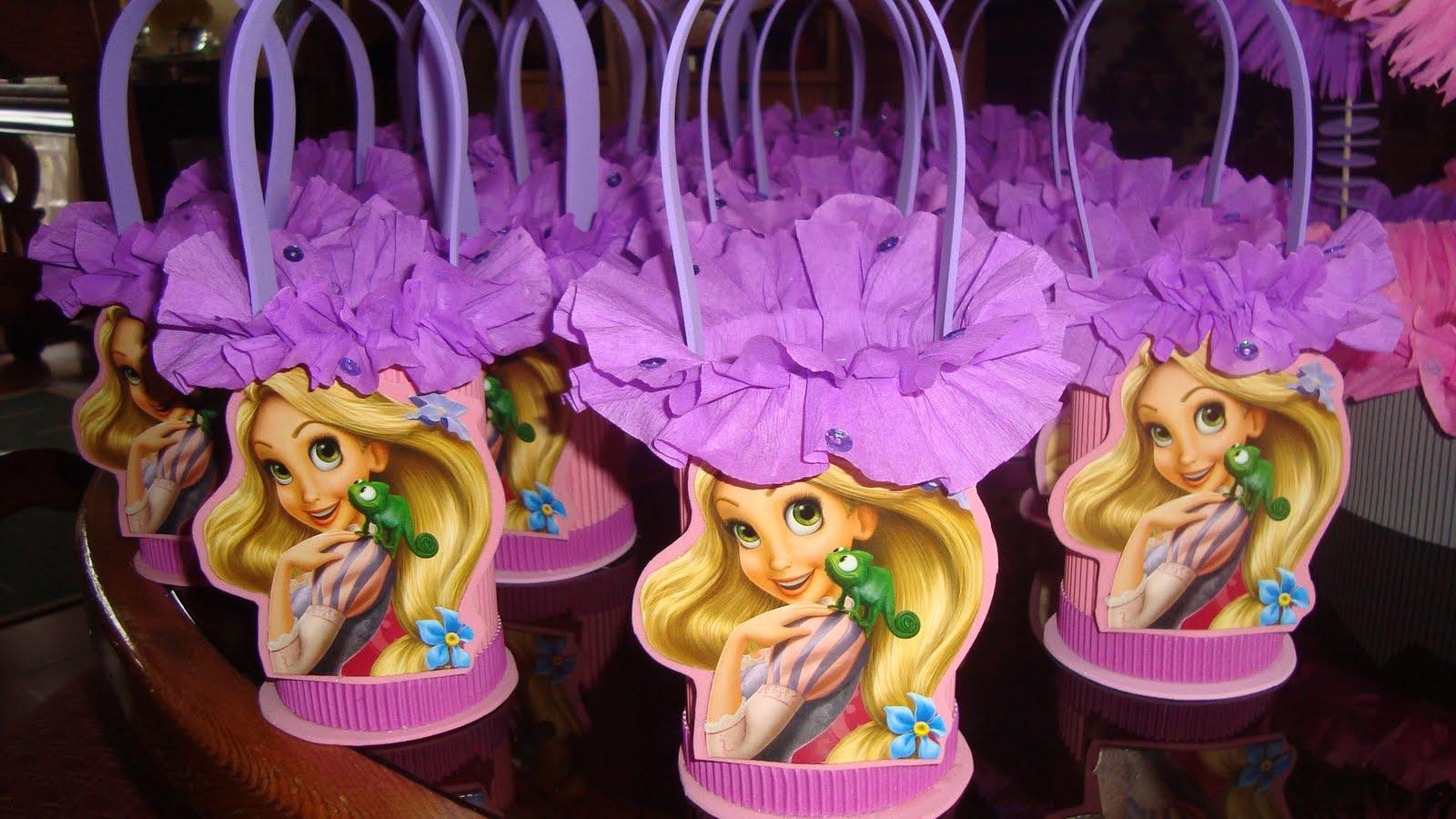 Decoracion De Rapunzel Para Fiestas Infantiles ~ LOS INVITO A CONOCER MI PAGINA  Canastitas Rapunzel