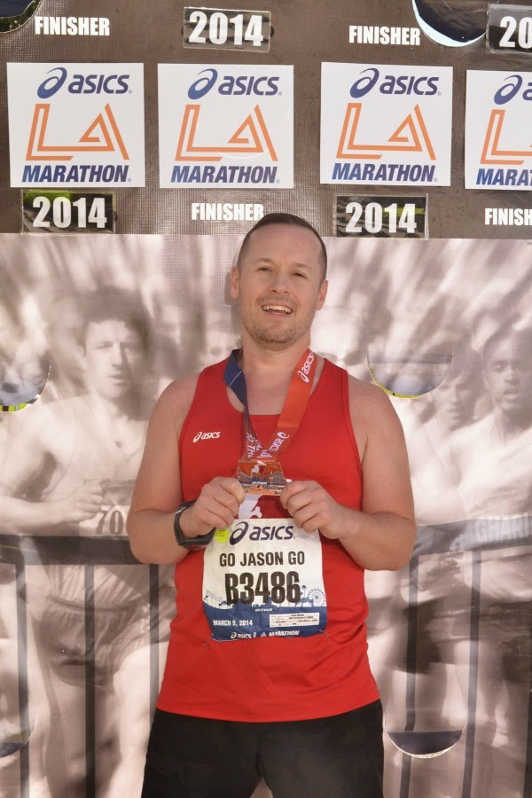 Asics LA Marathon 2014 Finisher