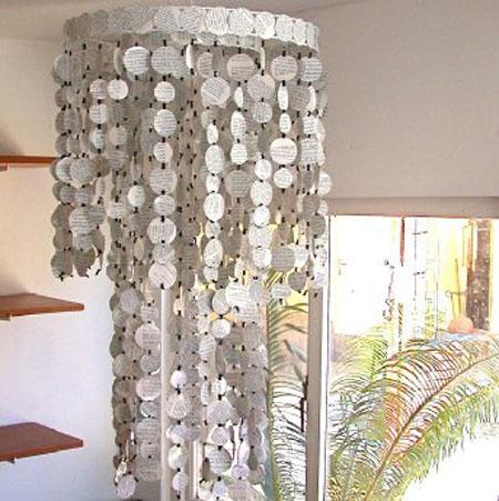 para comenzar con una manualidad con papel reciclado, es el proceso