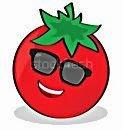 Peito e tomates!