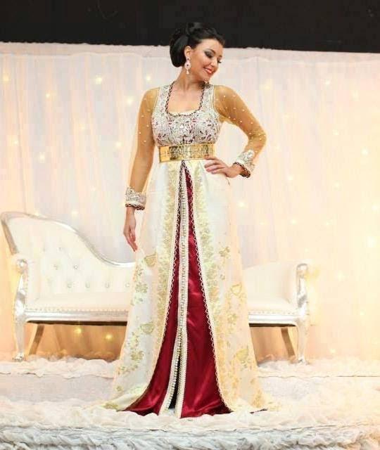caftan marocain robe haute couture