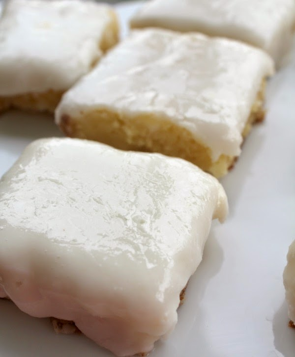 lemon brownies bars