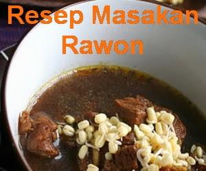 Resep Masakan Rawon Daging Surabaya