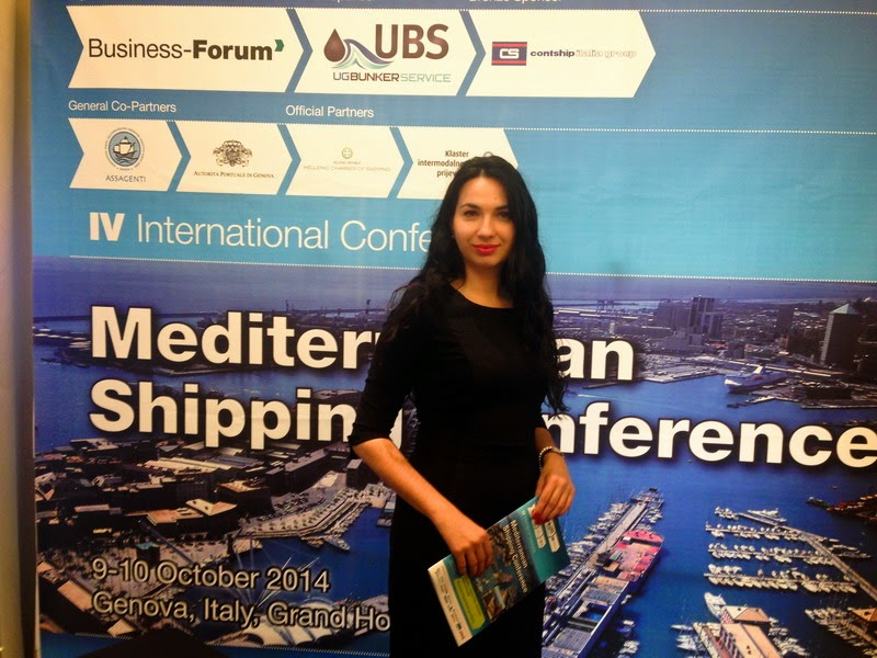 I. Osmatesko at Mediterranean Shipping Conference