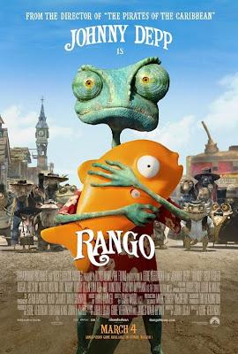 rango poster ver2 Rango (2011) Español Latino
