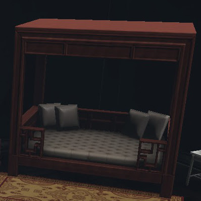 dcuo furniture royal dynasty bed