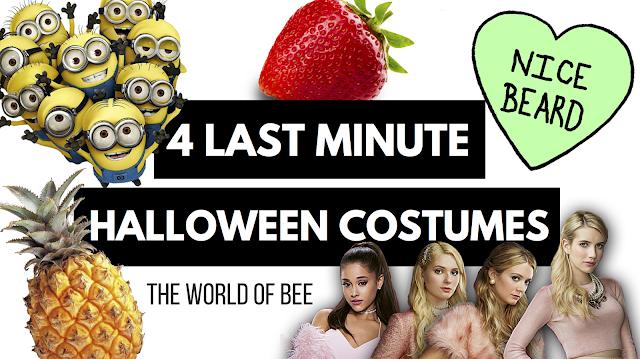 4 Last Minute Halloween Ideas!