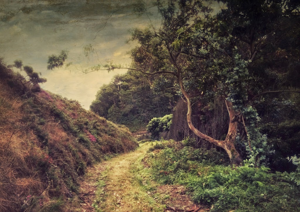 landscape,art Photo, contemporary art, Asturias, Lopez Moral, pictorialism, La espera