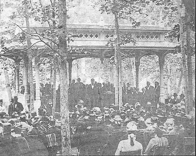 The Pavilion was built for all the Preachers-- preaching or not