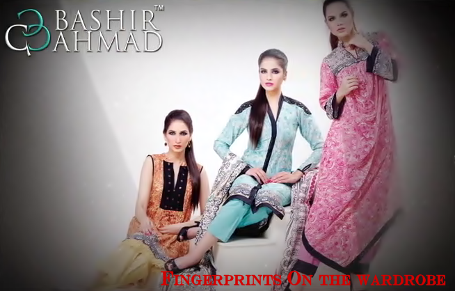 Bashir Ahmad Textiles Collection 2014