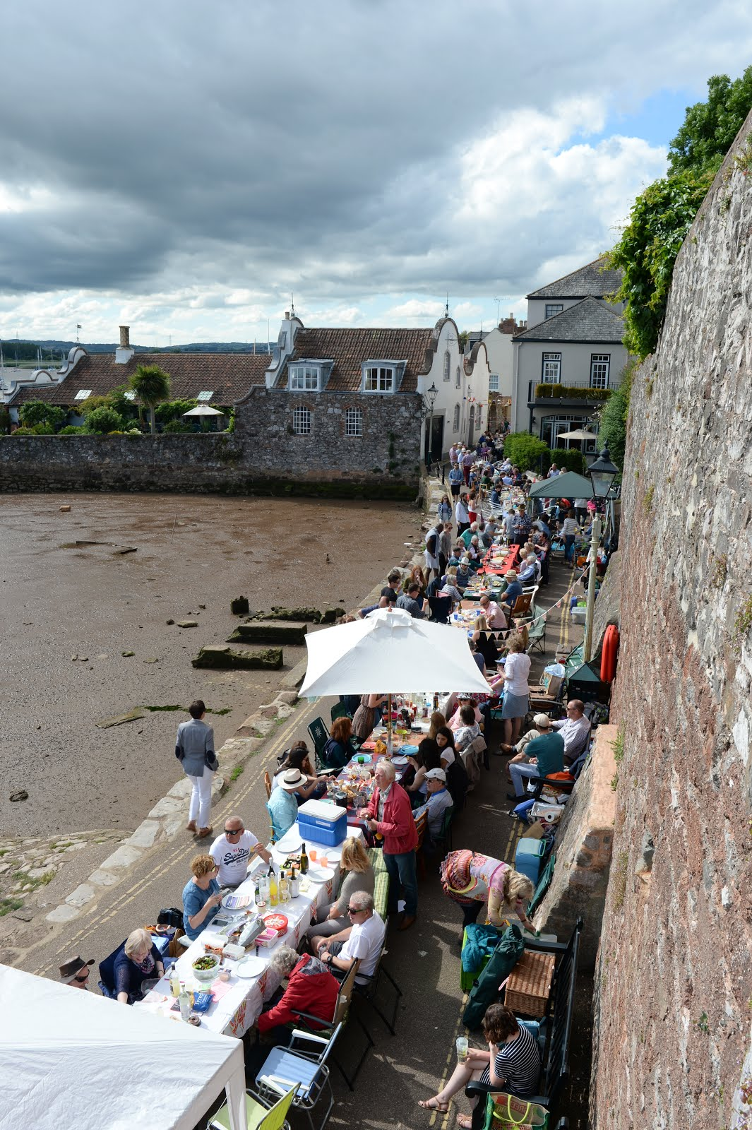 Topsham Food Festival & Nello's Longest Table