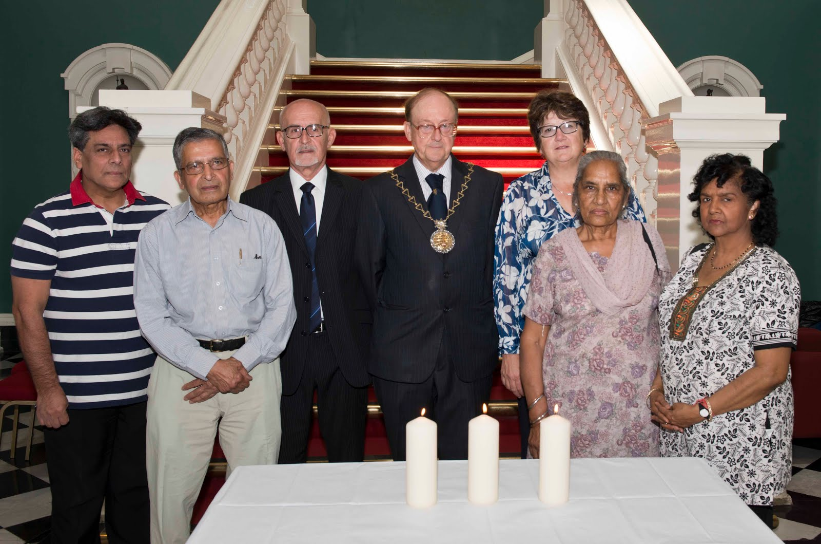 Minute Silence as Royal Greenwich Honours Victims of terror attack in Sousse Beach Resort, Tunisia