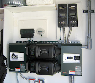 Outback Power battery back-up system