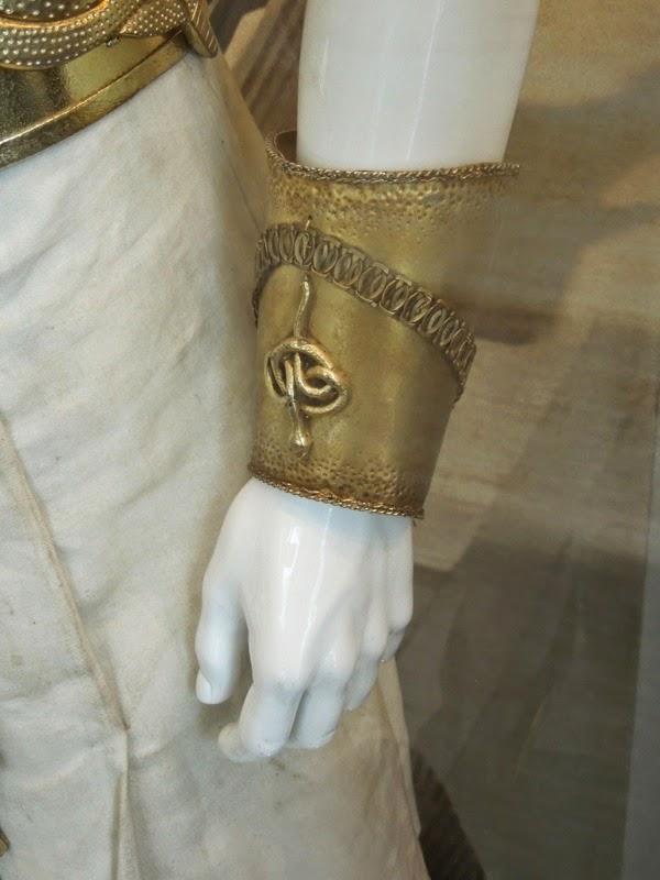 Exodus Gods and Kings Ramesses II armour bracelet