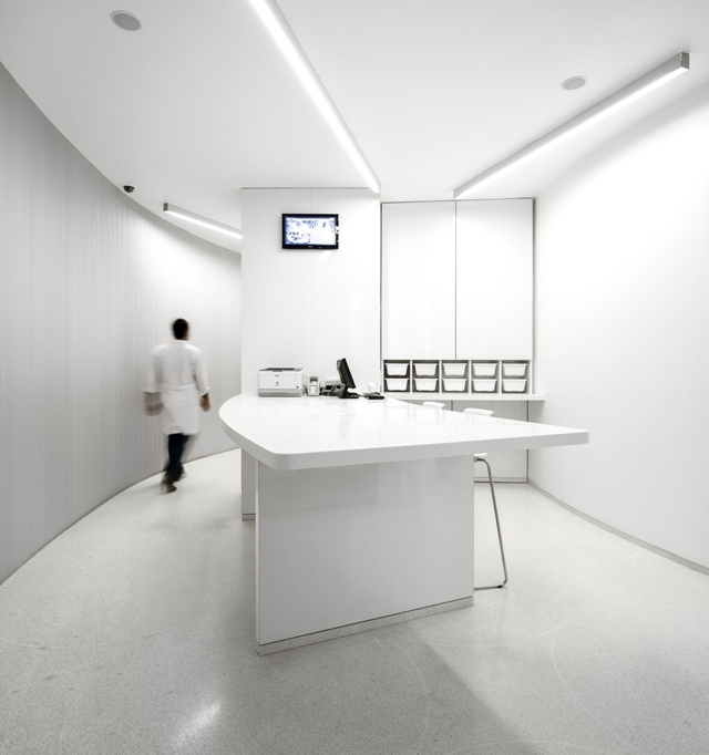 Picture of modern pharmacy office