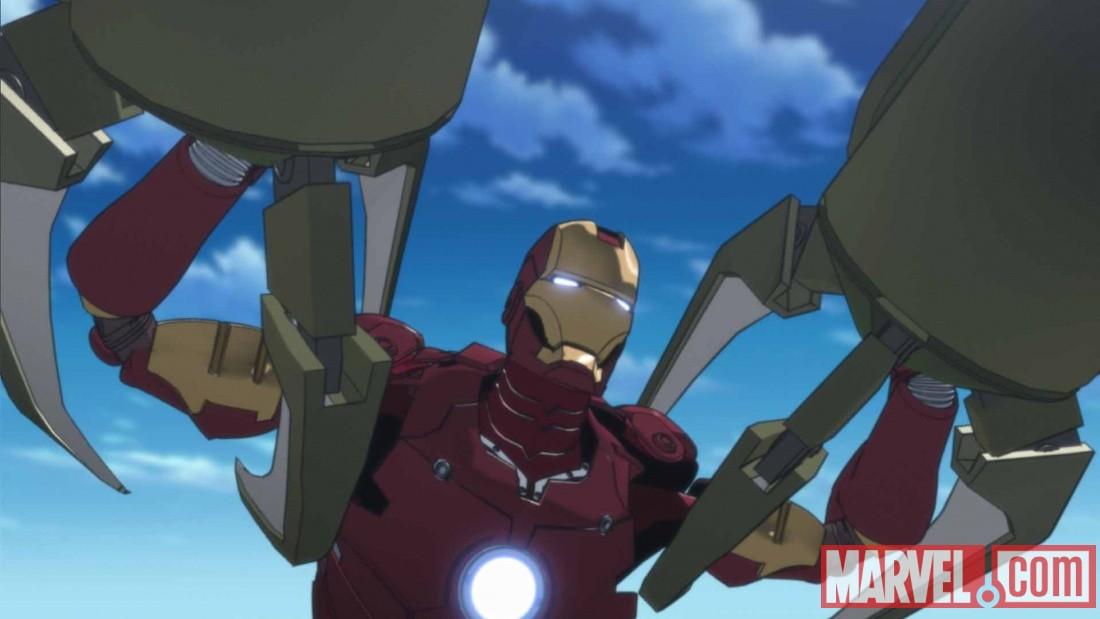 Nouveaux dessins de la s rie tv anime de iron man comix marvel dc comics co in france par - Iron man en dessin anime ...
