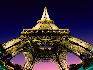 Beneath the Eiffel Tower, Paris, France Wallpapers