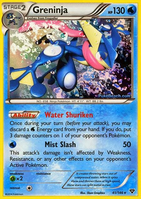 Pokémon TCG - O que está jogando - Pokemons 41-greninja