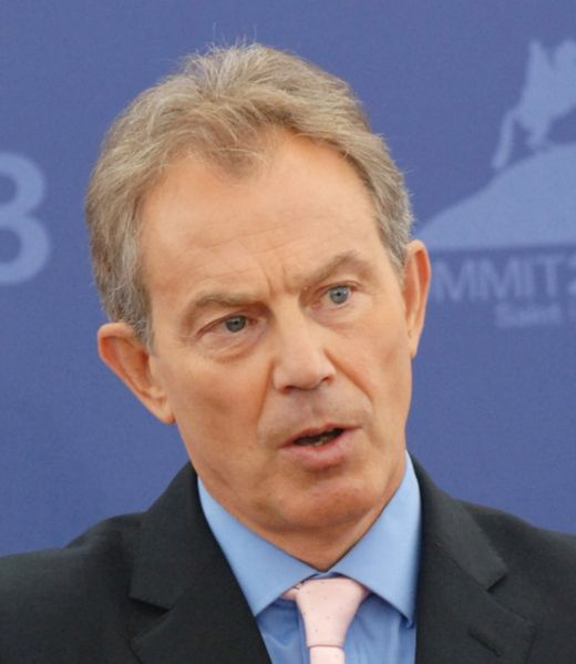 Tony Blair Net Worth