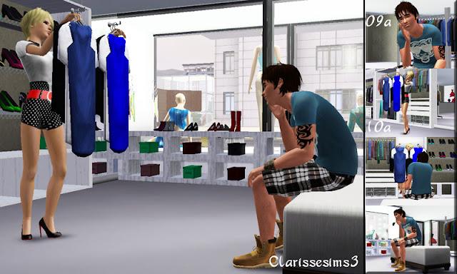 Clarisse sims3 custom poses