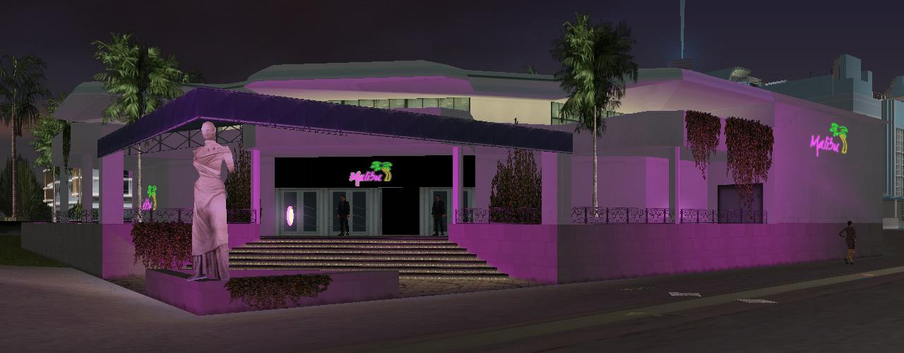 Gta Vice City Gta Vc Malibu Club