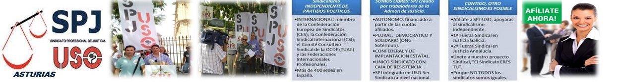 SPJ-USO  ASTURIAS SINDICATO PROFESIONAL DE JUSTICIA ASTURIAS