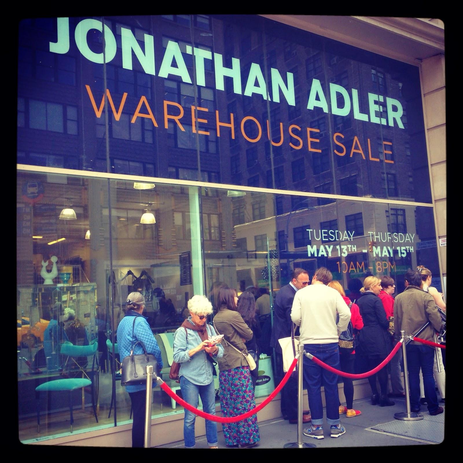 StellaBella: 2014 Jonathan Adler Warehouse Sale