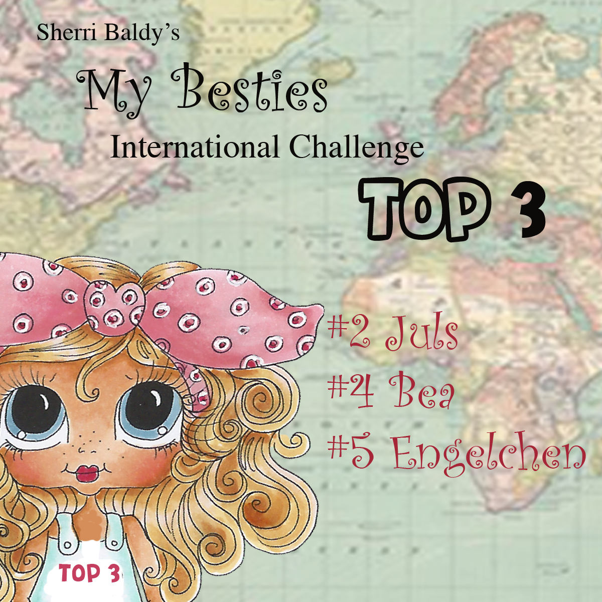 In Top 3 #1 My Besties International