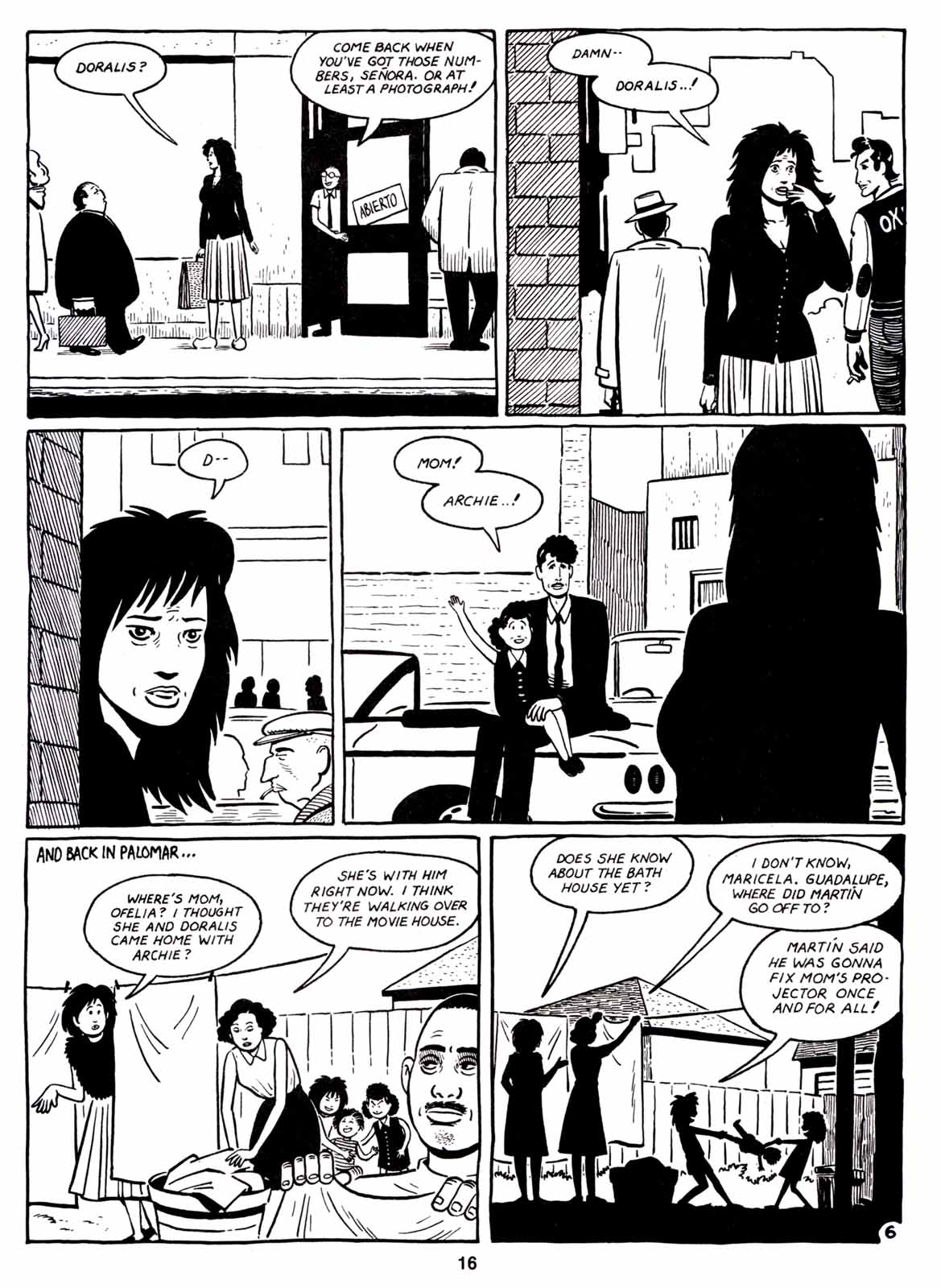 Love and Rockets (1982) Issue #7 #6 - English 18