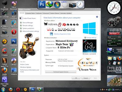Windows XP SP3 - 8 Elite Edition v2.0 2012