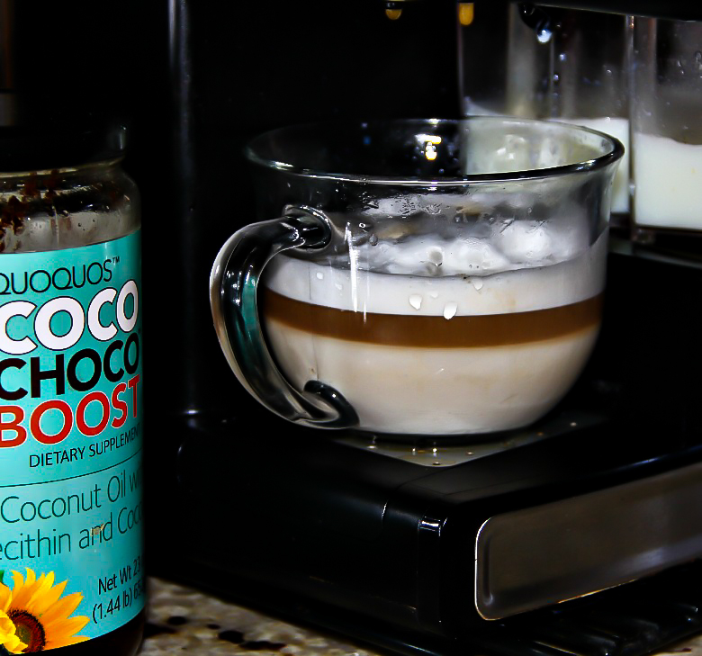 Coconut Mocha Latte