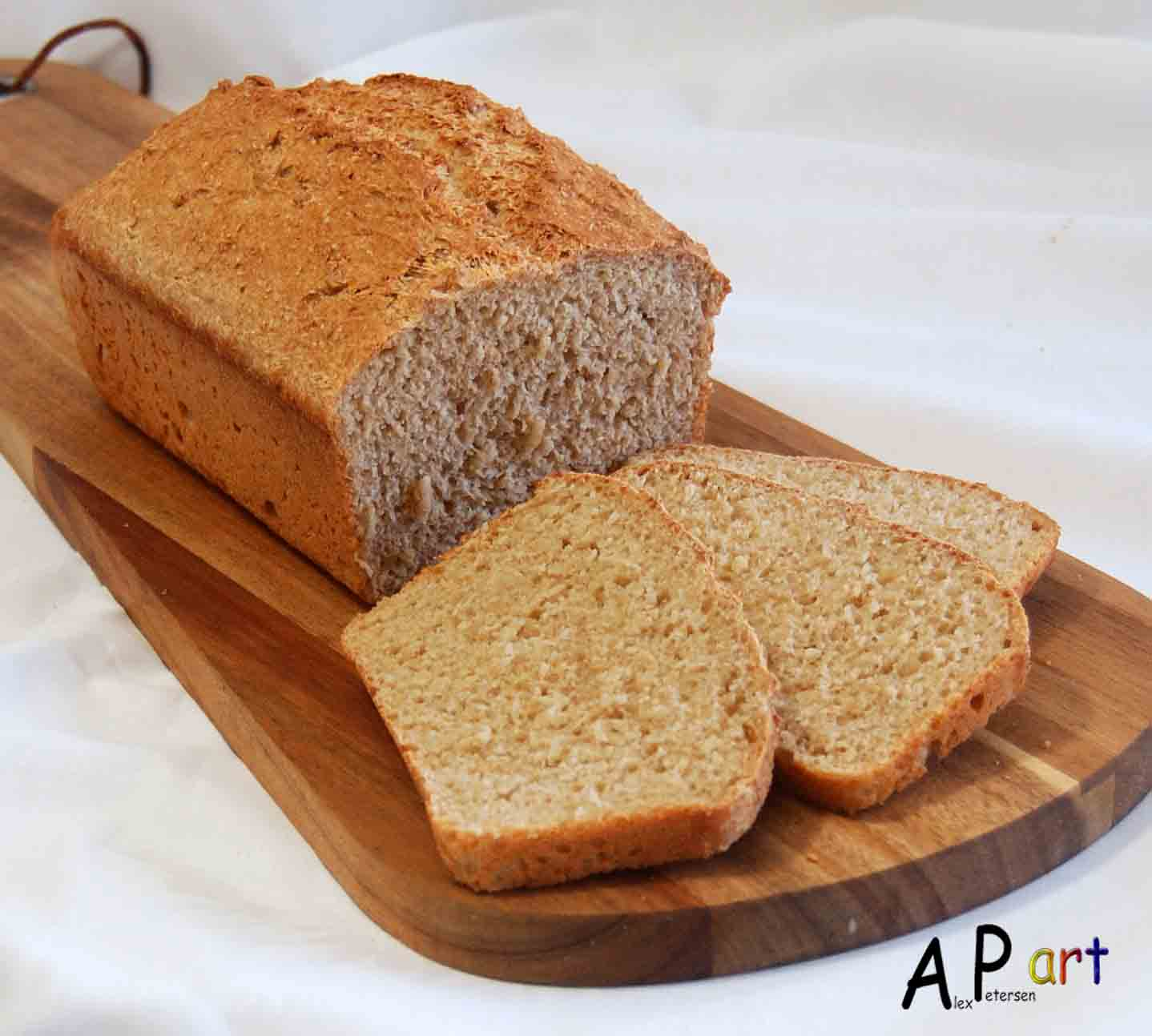 one ingredient to make bread Only 4 ingredients are necessary to make yeast bread: flour, water, yeast and salt there is no need to add sugar when making bread as there is enough food in flour for the yeast to multiply sugar, if added, is mostly in the dough for the taste.