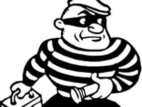 Resultado de imagen para ladron caricatura