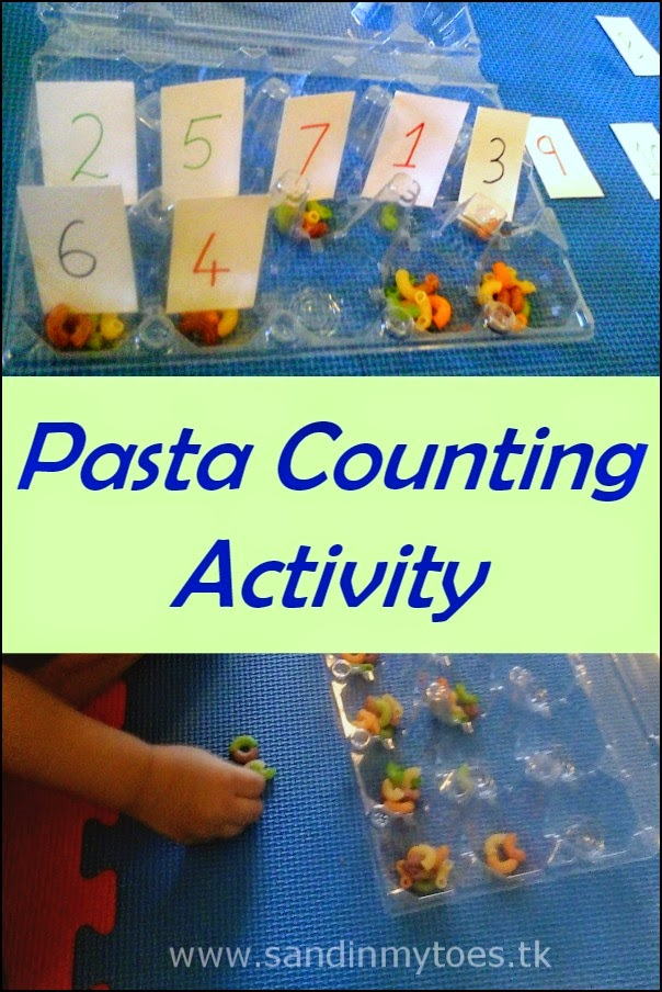 Pasta Counting Activity