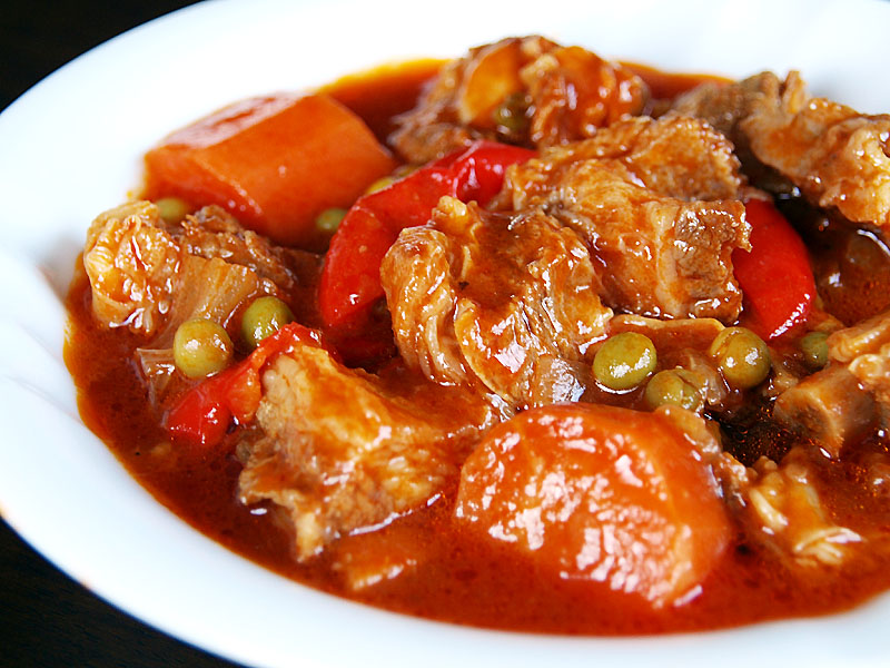 how to cook beef caldereta pinoy style