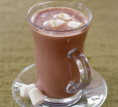 Deluxe Hot Chocolate with Marshmallows Recipe Deluxe Hot Chocolate with Marshmallows Recipe