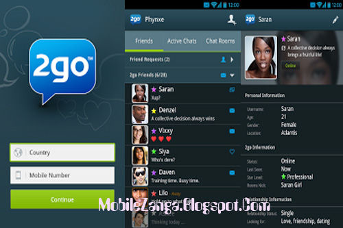MobileZanga | All About Mobile Phones: 2go Launches New Official App ...